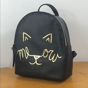 T-Shirt & Jeans Bags - T-Shirt & Jeans 🐱 Mini Kitty Cat 'Meow' Backpack
